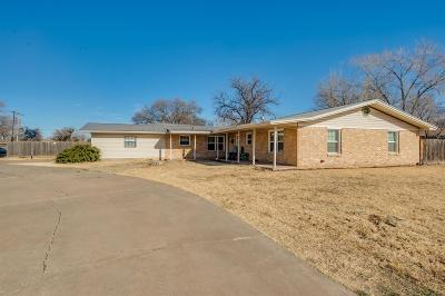 Lubbock Single Family Home For Sale: 5230 9th Street