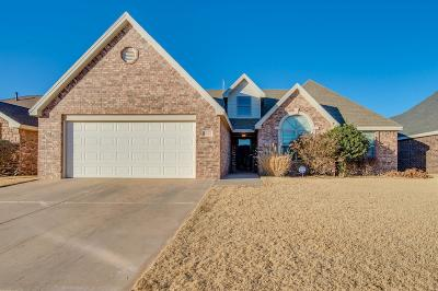 Lubbock Single Family Home For Sale: 6404 93rd Street