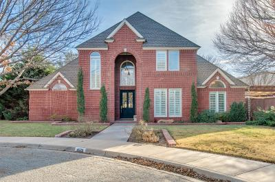Lubbock TX Single Family Home Under Contract: $364,999