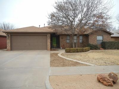 Lubbock Single Family Home For Sale: 3110 97th Street