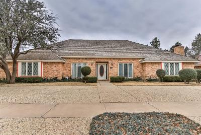 Lubbock Single Family Home For Sale: 5001 92nd Street
