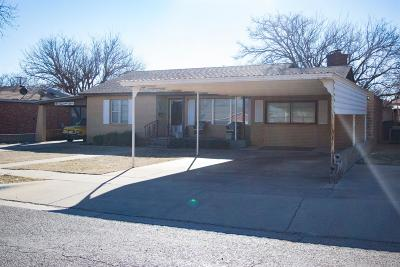 Lamesa Single Family Home For Sale: 1003 N 18th Street