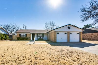 Lubbock Single Family Home For Sale: 2509 70th Street