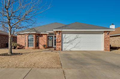 Lubbock Single Family Home Under Contract: 1612 79th Street