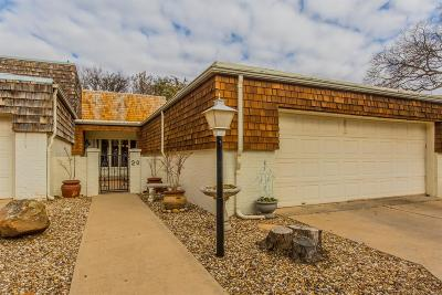 Lubbock Townhouse For Sale: 2302 Slide Road