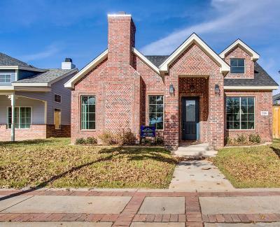 Lubbock Single Family Home For Sale: 2116 Glenna Goodacre Boulevard
