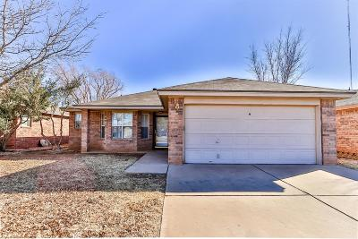 Lubbock Single Family Home For Sale: 8107 Temple Avenue