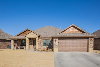 Lubbock Single Family Home For Sale: 7203 Pontiac Avenue
