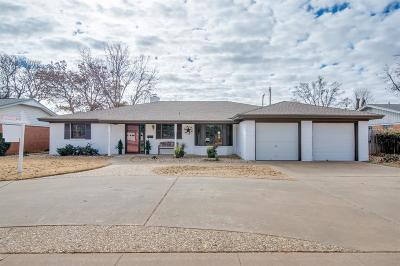 Lubbock TX Single Family Home For Sale: $184,900