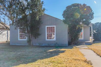 Lubbock Single Family Home For Sale: 2319 35th Street