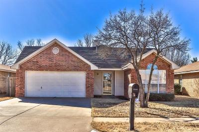 Lubbock Single Family Home For Sale: 2215 91st Street