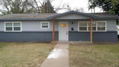 Lubbock Single Family Home For Sale: 4321 41st Street