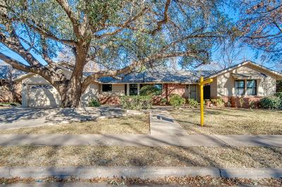 Lubbock Single Family Home For Sale: 3120 22nd Street