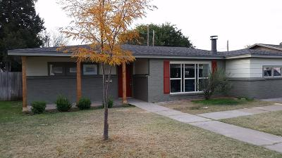 Lubbock TX Single Family Home For Sale: $149,500