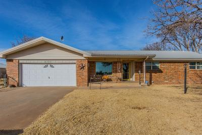 Lubbock Single Family Home For Sale: 5730 Farm Road 1294