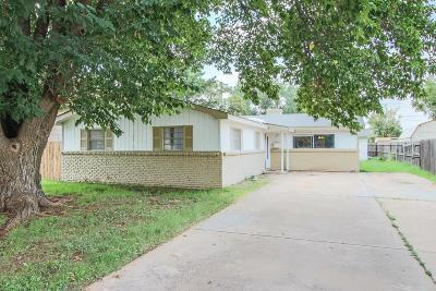 Lubbock Single Family Home For Sale: 5019 52nd Street