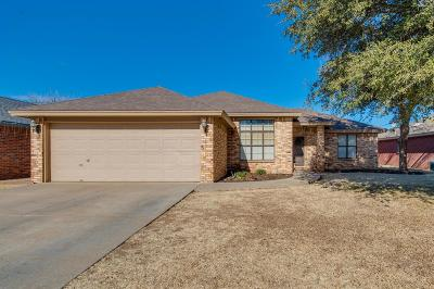 Lubbock Single Family Home For Sale: 5816 73rd Street
