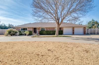 Lubbock Single Family Home For Sale: 1704 Pontiac Avenue