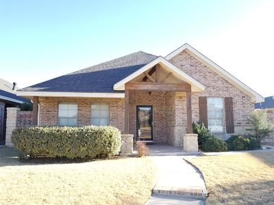 Lubbock Garden Home For Sale: 5823 112th Street