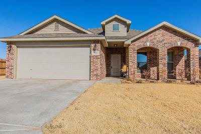 Lubbock Single Family Home For Sale: 7212 95th Street