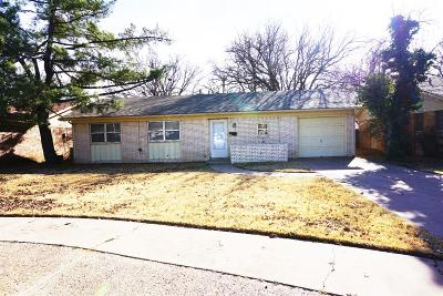 Lubbock Single Family Home For Sale: 4403 60th Street