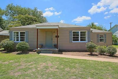 Lubbock Single Family Home For Sale: 3515 27th Street