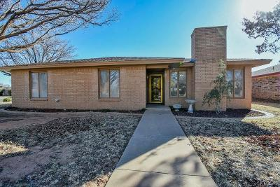 Lubbock Single Family Home For Sale: 5725 63rd Street