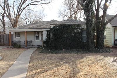 Lubbock Single Family Home For Sale: 2613 25th Street