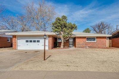 Lubbock Single Family Home For Sale: 4910 12th Street