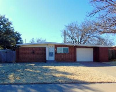 Lubbock TX Single Family Home Under Contract: $87,000