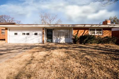 Lubbock Single Family Home For Sale: 4420 48th Street