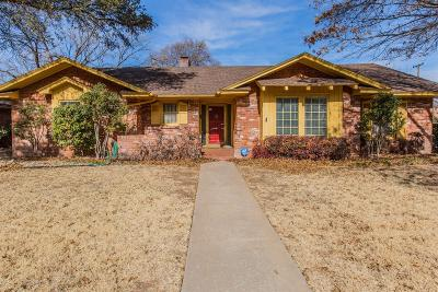 Single Family Home For Sale: 3602 61st Street