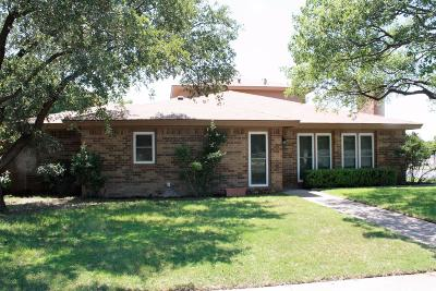 Lubbock Single Family Home For Sale: 9002 Lynnhaven Avenue