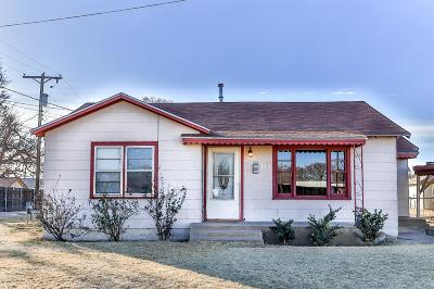 Slaton  Single Family Home Under Contract: 435 W Scurry Street