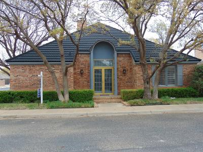 Lubbock County Garden Home For Sale: 4718 French Quarter Court