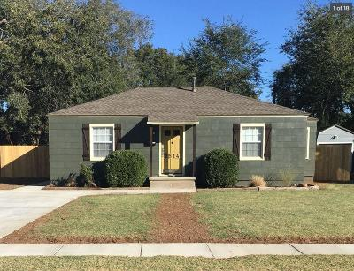 Lubbock Single Family Home For Sale: 2514 29th Street