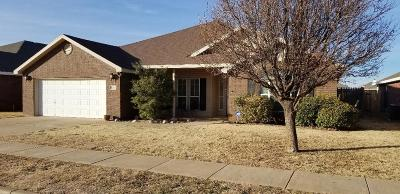 Lubbock Single Family Home Under Contract: 6818 84th Street