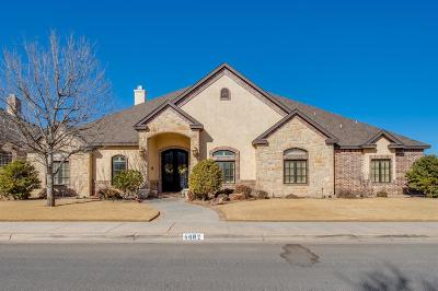 Lubbock Single Family Home For Sale: 4602 103rd Street