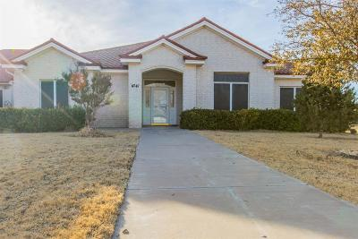 Lubbock Single Family Home Under Contract: 4341 N Boston Avenue