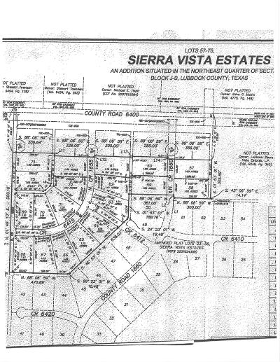 Lubbock TX Residential Lots & Land For Sale: $62,000