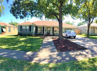 Lubbock Single Family Home Under Contract: 3305 25th Street