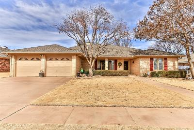 Lubbock Single Family Home Under Contract: 5328 85th Street