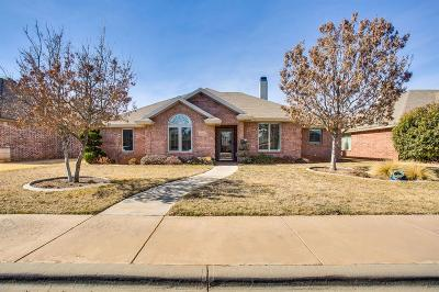 Lubbock TX Single Family Home Under Contract: $219,900