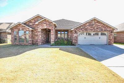 Lubbock Single Family Home Under Contract: 6903 90th Street
