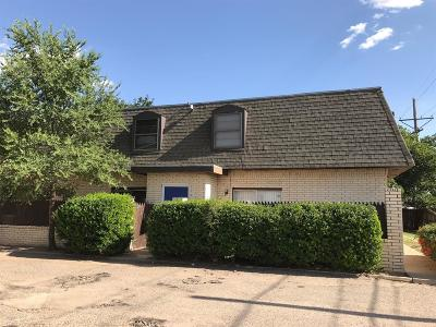 Lubbock Multi Family Home For Sale: 5445 40th Street
