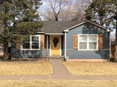Lubbock Single Family Home For Sale: 3120 29th Street