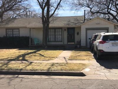 Lubbock Single Family Home For Sale: 3209 30th Street
