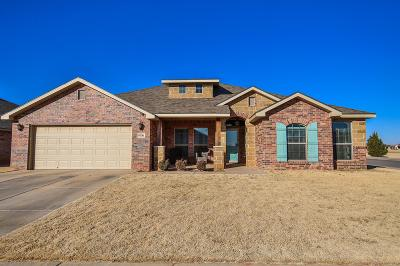 Lubbock Single Family Home Under Contract: 9106 Quitman Avenue