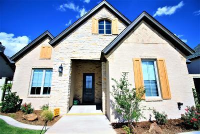 Lubbock Garden Home For Sale: 13913 Quinton Avenue