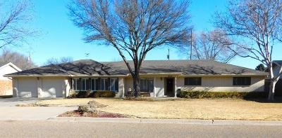Bailey County, Lamb County Single Family Home Under Contract: 1908 W Ave G